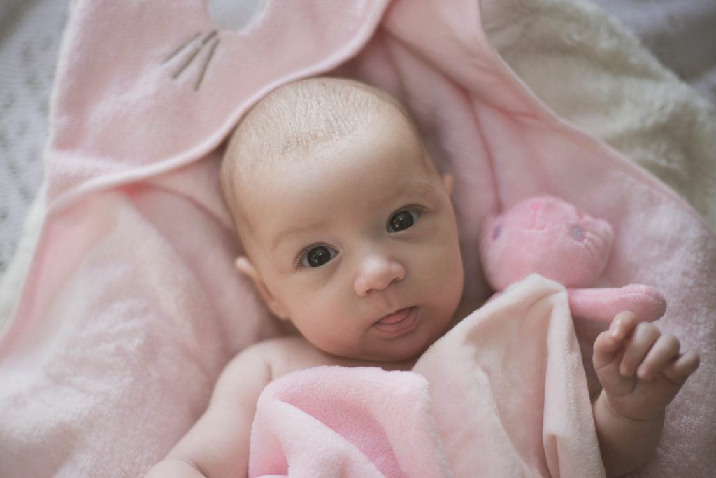 Beautiful Baby Photo Shoot with Lily